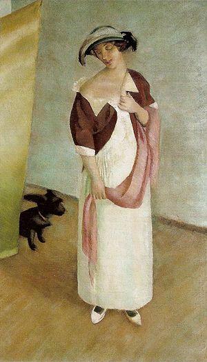 Jacek Mierzejewski: Portrait of his housewife
