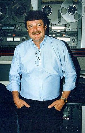Big Jack Armstrong - Disc Jockey Jack Armstrong, at his last job in Greensboro, NC.