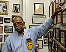 Hadley gives a tour at the Jack Hadley Black History Museum