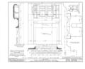 Jacob Evans House, Marlton-Medford Road, Marlton, Burlington County, NJ HABS NJ,3-MART.V,5- (sheet 11 of 24).png