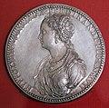 Jacopo da trezzo, medaglia di ippolita gonzaga, 1548.jpg