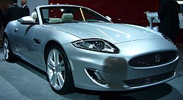 Jaguar XK Convertible facelift (front quarter).jpg