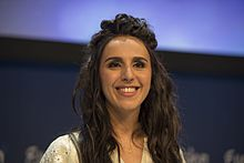 Jamala at Eurovision 2016 Press Conference.jpg