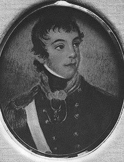 James Morisset Commondant of Norfolk Island