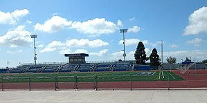 James Madison High School (California) - Image: James Madison High School Stadium