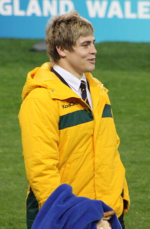 James O'Connor (rugby union) - O'Connor with Australia in 2011.