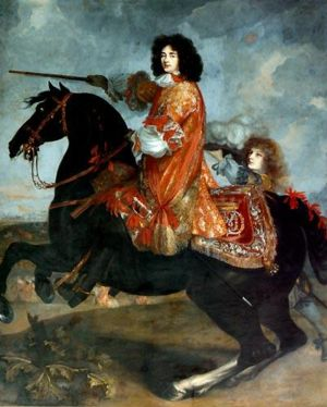 Monmouth Rebellion - James Scott, Duke of Monmouth on horseback (Henri Gascar, 1672)