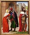 Jan de hey (maestro di moulins), carlo magno e l'incontro alla porta d'oro, 1491-94 ca. 01.jpg