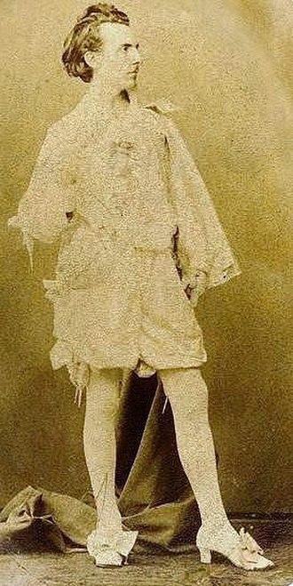 Jan van Beers (artist) - Van Beers posing as Sir Anthony van Dyck