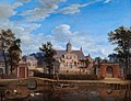 Jan van der Heyden - The Château of Goudestein, on the River Vecht, near Maarsen WMR APH N070478.jpg