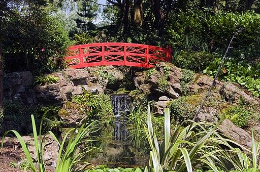 Japanese Bridge, Highnam Court Gardens-geograph-4114393-by-Stuart-Wilding