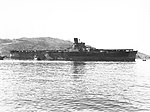 Japanese aircraft carrier Junyō moored at Sasebo, Japan, in the autumn of 1945 (USMC 150350).jpg