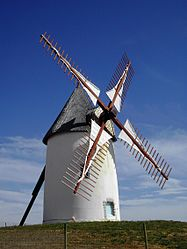 The windmill in Jard-sur-Mer