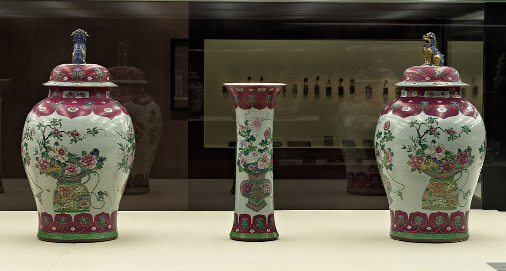 Filejars And Vases Qing Dynastyg Wikimedia Commons