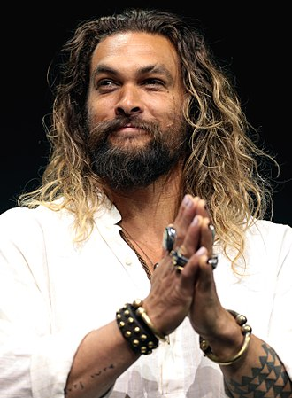 Jason Momoa - Momoa at San Diego Comic-Con International in July 2017.