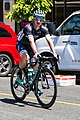 Jay McCarty of Bora Hansgrohe before the start of Stage 2 in Modesto (34651466280).jpg