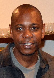 Dave Chappelle American comedian