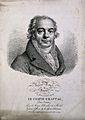 Jean-Antoine-Claude Chaptal, Comte de Chanteloup. Lithograph Wellcome V0001072.jpg