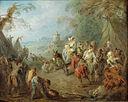 Jean-Baptiste Pater - Encampment (Soldiers' Halt) - Google Art Project.jpg