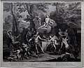 Jean audran, alleanza tra amore e bacco (da antoyne coypel), 1693 ca.jpg