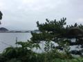 Jeongbang Waterfall horizon.png