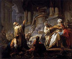 Jean-Honoré Fragonard: Jéroboam sacrifiant aux idoles