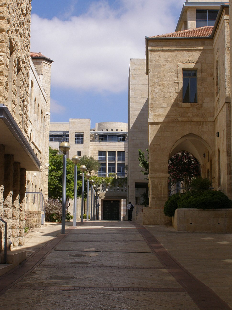 Jerusalem, Kikar Safra, City hall 06