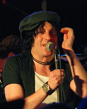 Jesse Malin - Jesse Malin performing at the Stone Pony in Asbury Park, NJ at benefit festival for the Light of Day Foundation 01/15/2016.