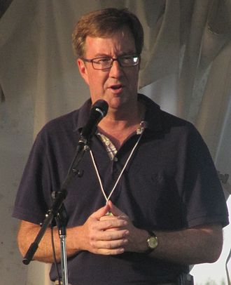Jim Watson (Canadian politician) - MPP Jim Watson speaking at the 2009 Ottawa Folk Festival