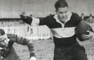 Jimmy Sharman - Jimmy Sharman playing for Wests