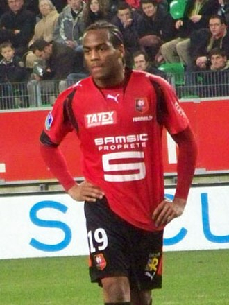 Jimmy Briand - Playing for Rennes in 2008
