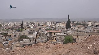Town in Aleppo Governorate, Syria