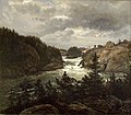 Johan Christian Dahl - The lower Falls at Trollhättan - NG.M.00414 - National Museum of Art, Architecture and Design.jpg
