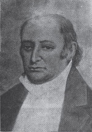 John Bradford (printer) - Portrait of John Bradford