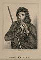John Keiling, known as Blind Jack, played the flageolet thro Wellcome V0007321.jpg
