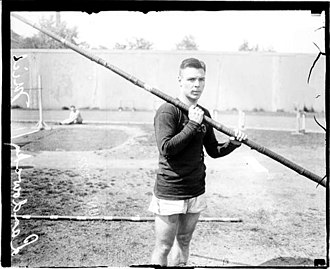 John Landowski - Landowski at Stagg Field, 1922