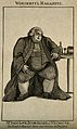 John Love, a very large man. Line engraving. Wellcome V0007178.jpg