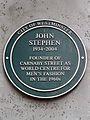 John Stephen 1934-2004 founder of Carnaby Street as world centre for men's fashion in the 1960's.jpg