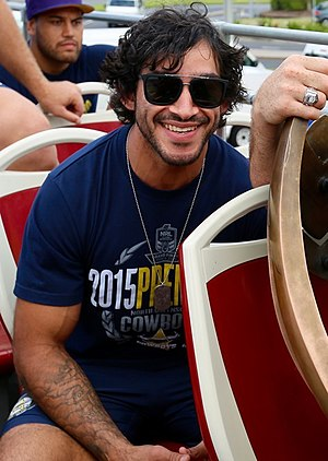 Johnathan Thurston - Thurston after winning the 2015 NRL Grand Final