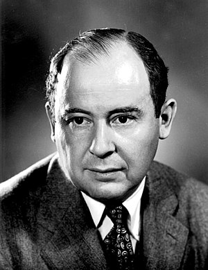 John von Neumann in the 1940s, as shown on wikipedia