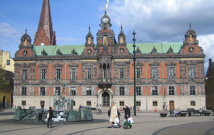 Malmo's old city hall. Jorchr-Malmo radhus.jpg