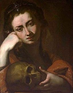 José de Ribera - The Penitent Magdalen or Vanitas - WGA19356