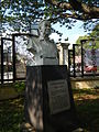 Jose Laurel bust and plaque at the Historical Park, Batangas City.jpg