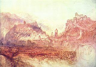 Bellinzona von Süden