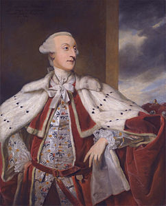 Joshua Reynolds, Portrait of Thomas Bruce Brudenell-Bruce, later 1st Earl of Ailesbury, in Peer's Robes (1776).jpg