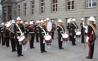 Royal Marines Band Service - Royal Marines Band in Jersey, 2010.