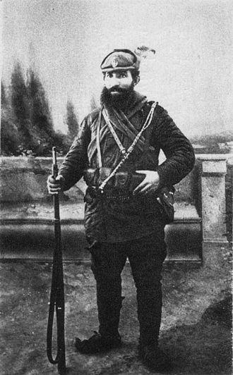 Jovan Dovezenski - Dovezenski in Chetnik gear
