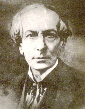 Constitution of Argentina - Juan Bautista Alberdi, the legal scholar who drafted the 1853 Constitution.
