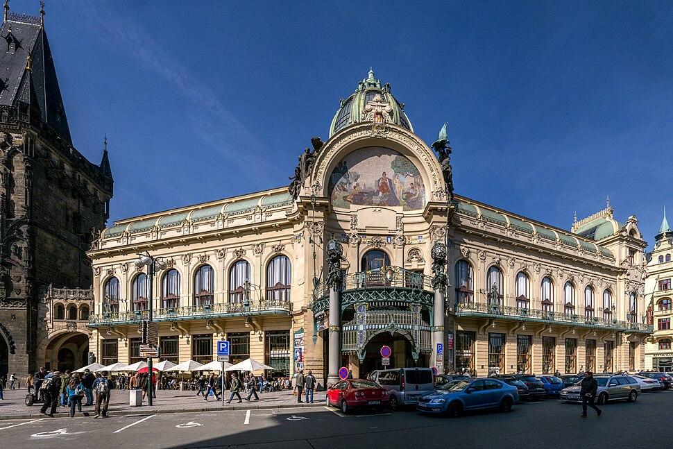 Jugendstil Prag Gemeindehaus 1