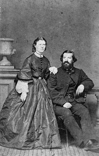 File:Julius Haast and his wife Mary 1865.jpg